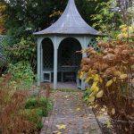 Pavillon in Sichtachse © Isabelle van Groeningen