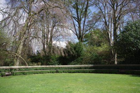 Arboretum Kalmthout - grünes Theater © Isabelle van Groeningen