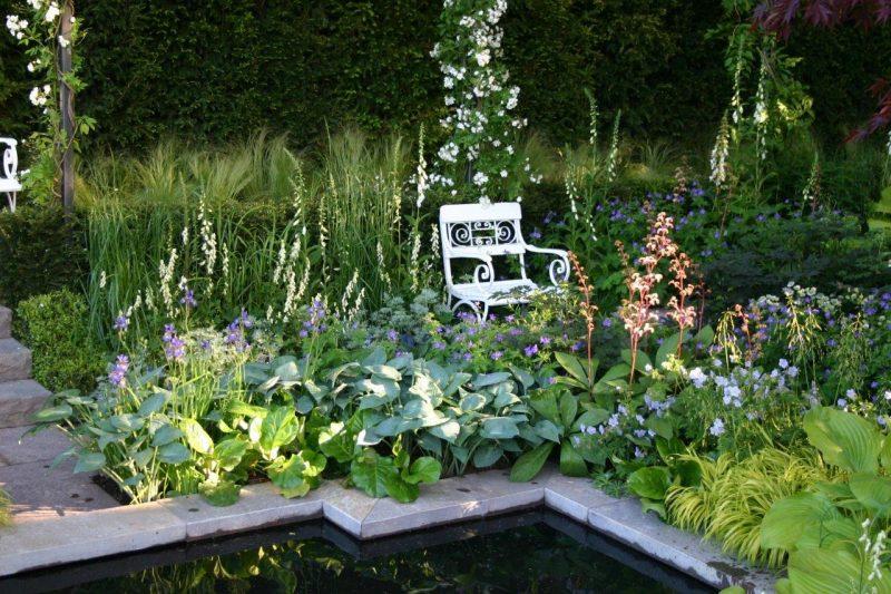 Detail our garden 2007 - Chelsea Flower Show © Isabelle Van Groeningen