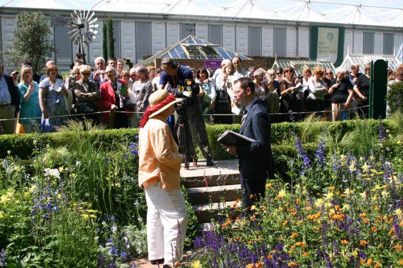 MMedienrummel auf der Chelsea Flower Show © Isabelle Van Groeningen