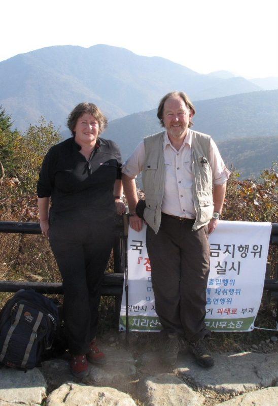Bleddyn and Sue Wynn-Jones - Pflanzen Sammeln © Isabelle Van Groeningen
