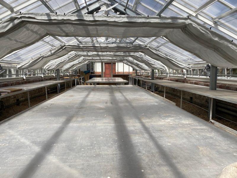 Das neue Gewächshaus © Isabelle Van Groeningen